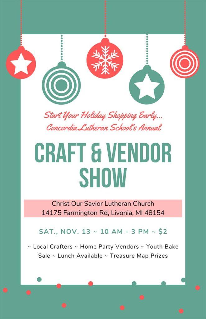 Craft and Vendor Show